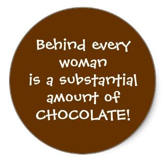 Chocolate slogan