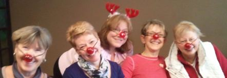Rudolph and a few of the other festive reindeer