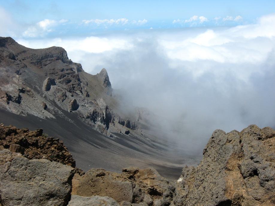 Crater at Mt. Haleakala