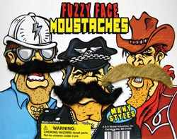 fuzzy face moustaches