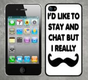 Moustache phone cover