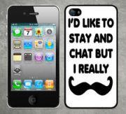Moustache phone cover