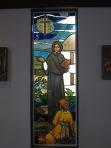 Elizabeth Seton stained glass window