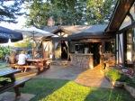 The Crow & Gate Pub's gardens